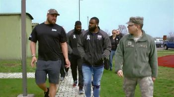 NFL TV Spot, 'Salute to Service: 2018 USO Tour' Featuring Mark Ingram