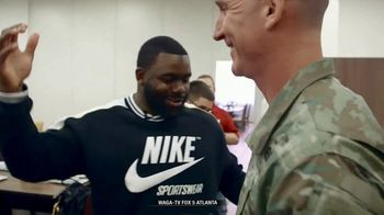 NFL TV Spot, 'Salute to Service: 2018 USO Tour' Featuring Mark Ingram - Thumbnail 3
