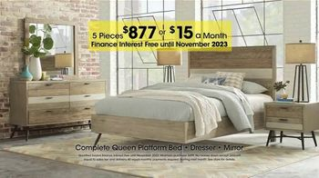 Rooms to Go Holiday Sale TV Spot, 'Five-Piece Bedroom'