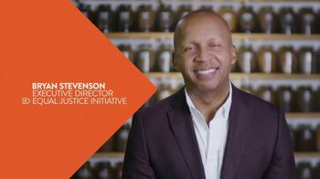 Erase the Hate TV Spot, 'Equal Justice Initiative' Featuring Bryan Stevenson - Thumbnail 3