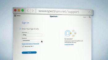 Spectrum.net TV Spot, 'Support' - Thumbnail 6
