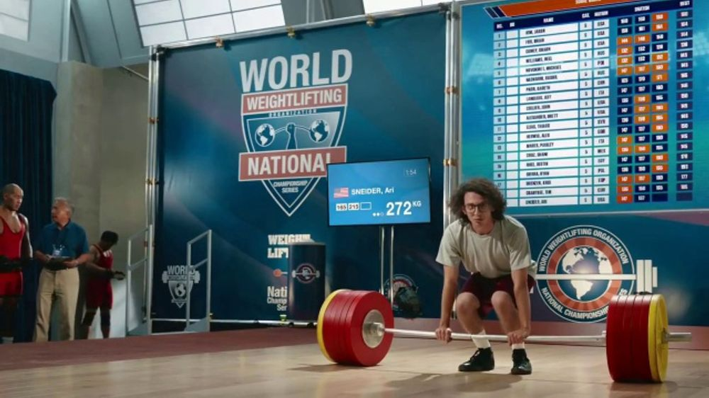 Roadside Assistance State Farm >> GEICO Car Insurance TV Commercial, 'Weightlifter Wins ...