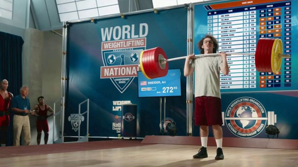 GEICO Car Insurance TV Commercial, 'Weightlifter Wins ...