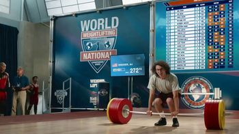 GEICO Car Insurance TV Spot, 'Weightlifter Wins Track Race' - Thumbnail 1