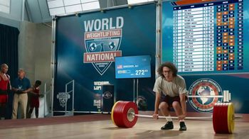 GEICO Car Insurance TV Spot, 'Weightlifter Wins Track Race' - Thumbnail 2