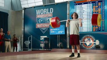 GEICO Car Insurance TV Spot, 'Weightlifter Wins Track Race' - Thumbnail 3