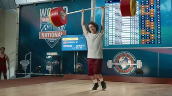GEICO Car Insurance TV Spot, 'Weightlifter Wins Track Race' - Thumbnail 4