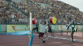 GEICO Car Insurance TV Spot, 'Weightlifter Wins Track Race' - Thumbnail 8