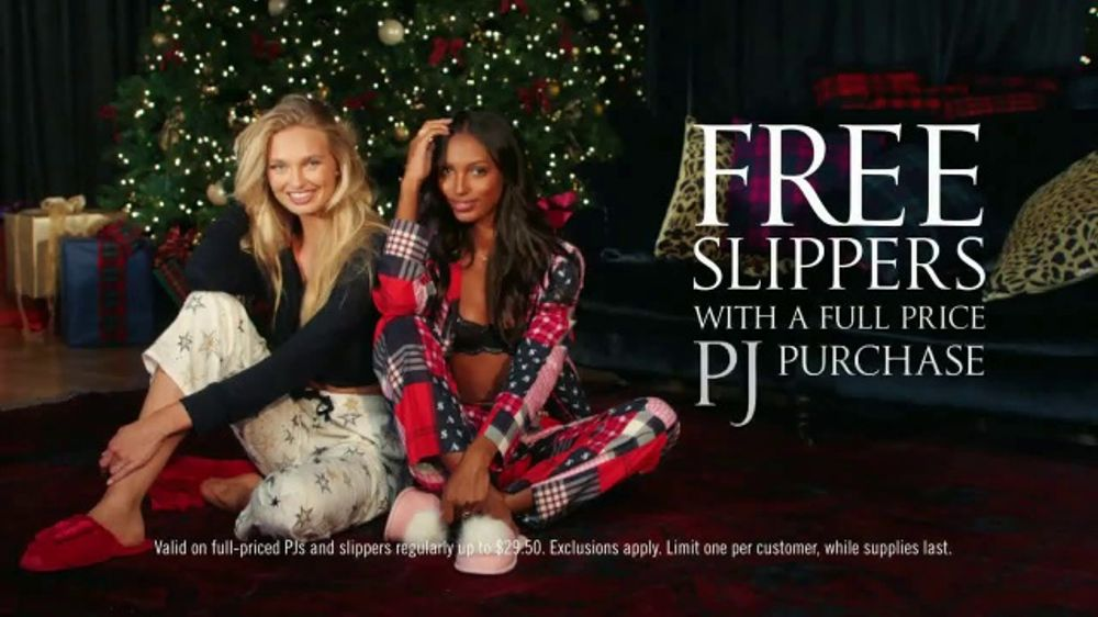 c5a973120c5ad Victoria's Secret TV Commercial, '2018 Holidays: PJ Purchase' Song by Alex  Adair - Video