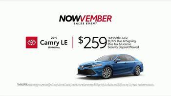 Toyota Nowvember Sales Event TV Spot, '2018 Camry' [T2] - Thumbnail 5