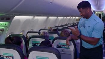 Alaska Airlines TV Spot, 'Flight Attendant Training: Life Vest Demo & Water Walk' Featuring Russell Wilson - Thumbnail 2