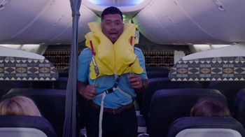 Alaska Airlines TV Spot, 'Flight Attendant Training: Life Vest Demo & Water Walk' Featuring Russell Wilson - Thumbnail 5