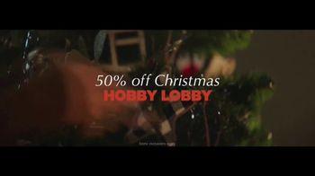 Hobby Lobby TV Spot, '50% Off Christmas' - Thumbnail 10