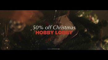 Hobby Lobby TV Spot, '50% Off Christmas' - Thumbnail 7