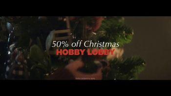 Hobby Lobby TV Spot, '50% Off Christmas' - Thumbnail 8