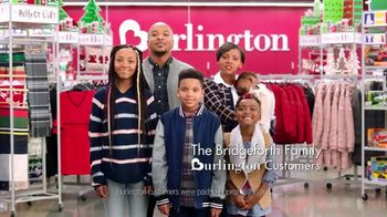Burlington TV Spot, '2018 Holidays: The Bridgeforth Family' - 3907 commercial airings