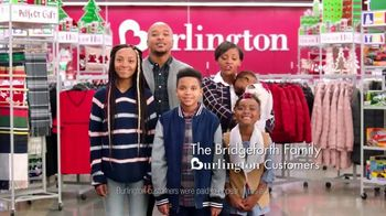 Burlington TV Spot, '2018 Holidays: The Bridgeforth Family' - Thumbnail 2