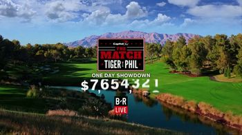 Bleacher Report Live TV Spot, 'The Match: Tiger vs. Phil' Song by Black Sheep - Thumbnail 1