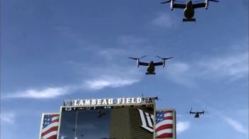 USAA TV Spot, 'Salute to Service: Aerial Salute' - 4 commercial airings