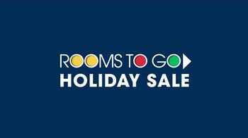 Rooms to Go Holiday Sale TV Spot, 'Sectionals'