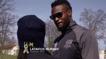 NFL TV Spot, 'Salute to Service: 2018 USO Tour' Featuring Latavius Murray - 2 commercial airings
