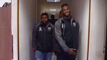 NFL TV Spot, 'Salute to Service: 2018 USO Tour' Featuring Latavius Murray - Thumbnail 4