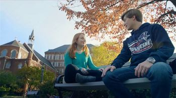 Duquesne University TV Spot, 'Transform the Way You See the World' - Thumbnail 3