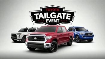 Toyota Tailgate Event TV Spot, 'Best Tailgate Parties' [T2] - Thumbnail 7