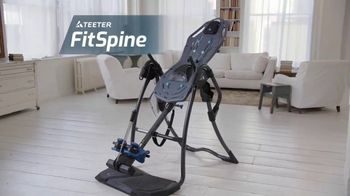 Teeter Hang Ups FitSpine TV Spot, 'Relief From Back Pain'