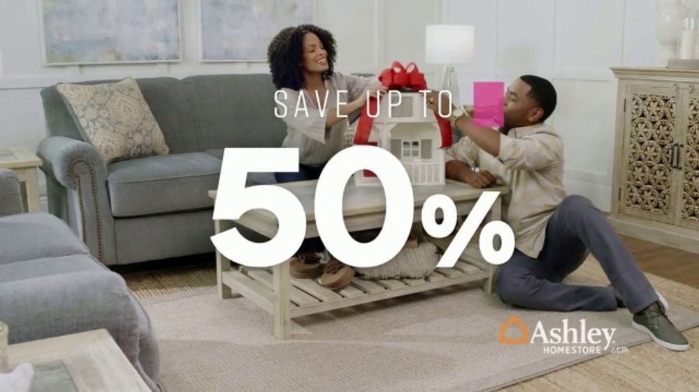 Ashley Homestore Cyber Week Sale Tv Commercial Sofas Ispot Tv