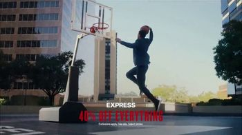 Express Performance TV Spot, 'NBA Game Changers: 40 Percent Off' Featuring John Collins, Song by Diplo