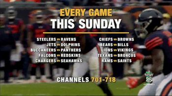 DIRECTV NFL Sunday Ticket TV Spot, 'Wide Open Sundays: Every Game' Featuring Peyton Manning - Thumbnail 8