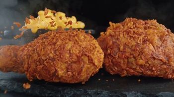 Banquet Mega Meats Nashville Hot Fried Chicken with Mac 'N Cheese TV Spot, 'Bold Spices' - Thumbnail 5