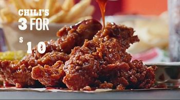 Chili's 3 for $10 TV Spot, 'Take it to Go'