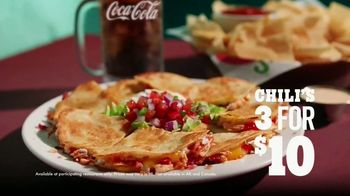 Chili's 3 for $10 TV Spot, 'Take It to Go' - Thumbnail 8