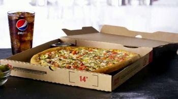 Papa John's Double Cheeseburger Pizza TV Spot, 'La mejor reunión' [Spanish]