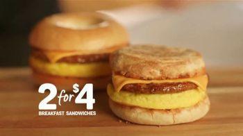 Tim Hortons 2 for $4 Breakfast Sandwiches TV Spot, 'Pair'