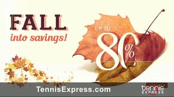 Tennis Express TV Spot, 'Fall Into Savings' - Thumbnail 1