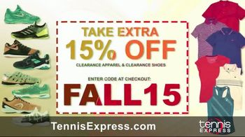 Tennis Express TV Spot, 'Fall Into Savings' - Thumbnail 3
