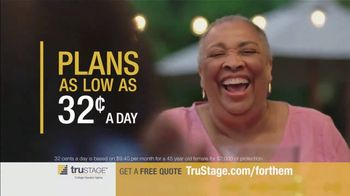 TruStage Guaranteed Acceptance Whole Life Insurance TV Spot, 'For Them' - Thumbnail 6