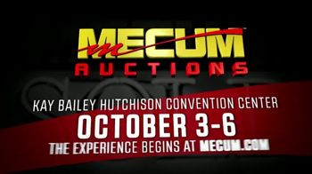 Mecum Auctions TV Spot, '2018 Dallas' - Thumbnail 10