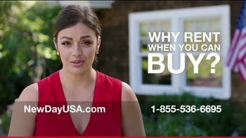 NewDay USA $0 Down VA Home Loan TV Spot, 'Own Instead of Rent'