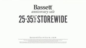Bassett Anniversary Sale TV Spot, 'Simply Crafted' - Thumbnail 10