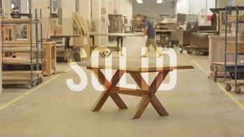 Bassett Anniversary Sale TV Spot, 'Simply Crafted' - Thumbnail 4