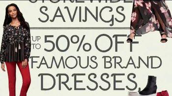 Stein Mart 12-Hour Sale TV Spot, '50 Percent Off Famous Brands' - Thumbnail 4
