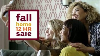 Ashley HomeStore Fall Home 12 Hour Sale TV Spot, '20 Percent Off First'
