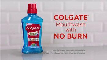 Colgate Total Pro-Shield Mouthwash TV Spot, 'No Burn' - Thumbnail 10