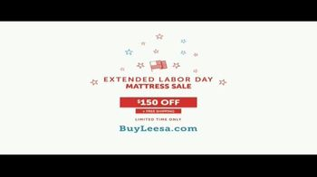 Leesa Extended Labor Day Mattress Sale TV Spot, 'My Bed' - Thumbnail 10