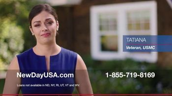 NewDay USA $0 Down VA Home Loan TV Spot, 'No Down Payment'