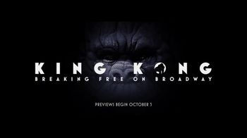 King Kong on Broadway TV Spot, 'Beauty Within the Beast' - Thumbnail 6
